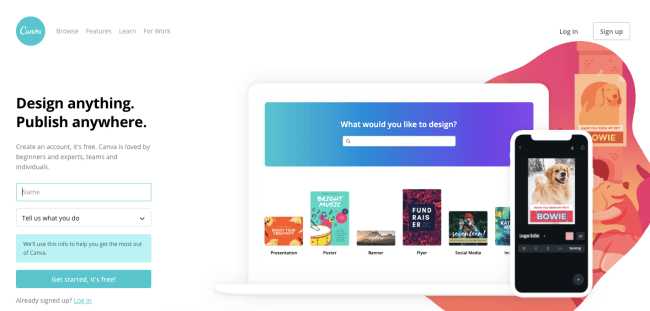 Canva - Productivity App 2019