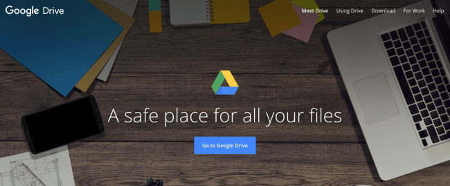 Google drive - Productivity App 2019