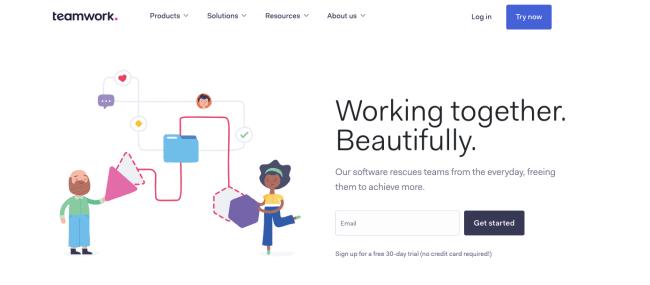 teamwork - Productivity App 2019