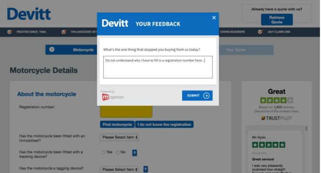 Devitt Exit Feedback Form