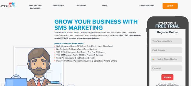 jooksmsm best sms provider