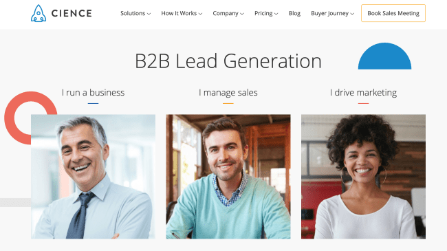 top lead generation tools - cience