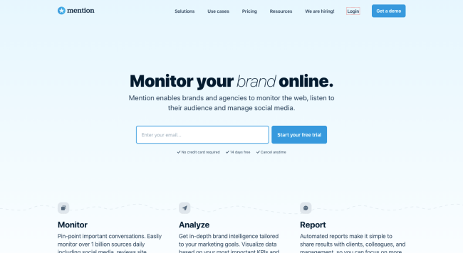 Mention Best Social Media Monitoring Tools