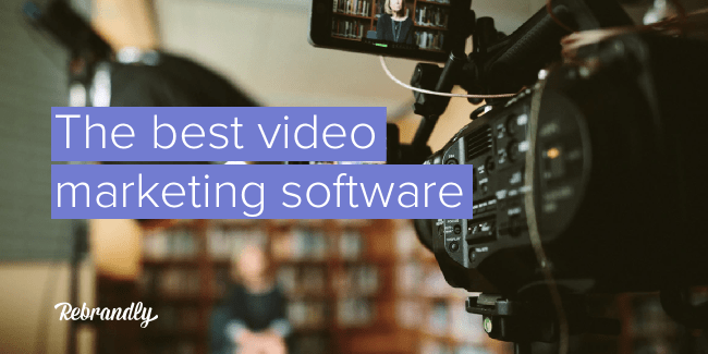 Video marketing software