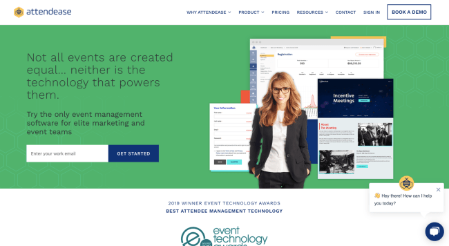 Attendease - best event marketing software