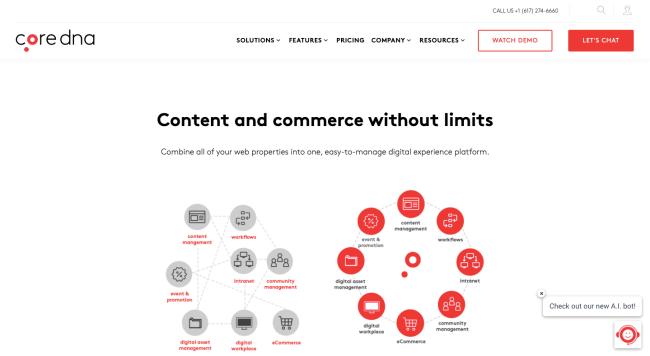 coredna - best e-commerce platforms
