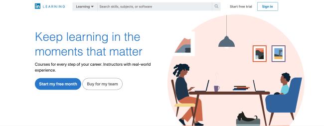 linkedin learning - best online learning platforms