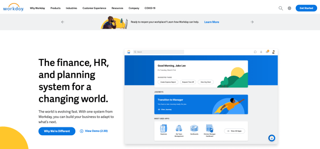 workday - top HR software
