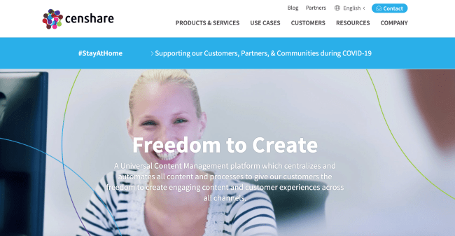 Censhare Best Digital Asset Management Software