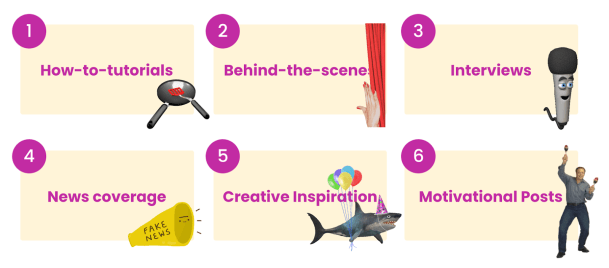 preferred content - tips for creating instagram videos