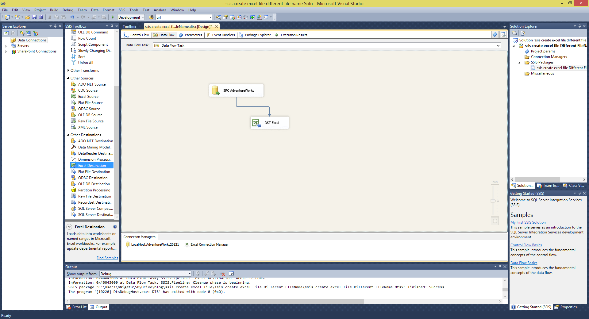 Create Excel File In Script Task Ssis Archives