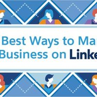 The Best Ways to Market Your Business on LinkedIn [Infographic]