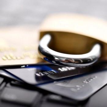 Padlock credit cards
