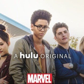 "Marvel's ""Runaways"" from Hulu"
