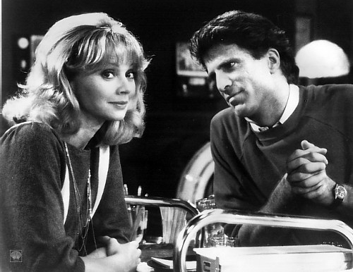 """Would you like to see """"Cheers"""" co-stars Ted Danson and Shelley Long reunite?"""