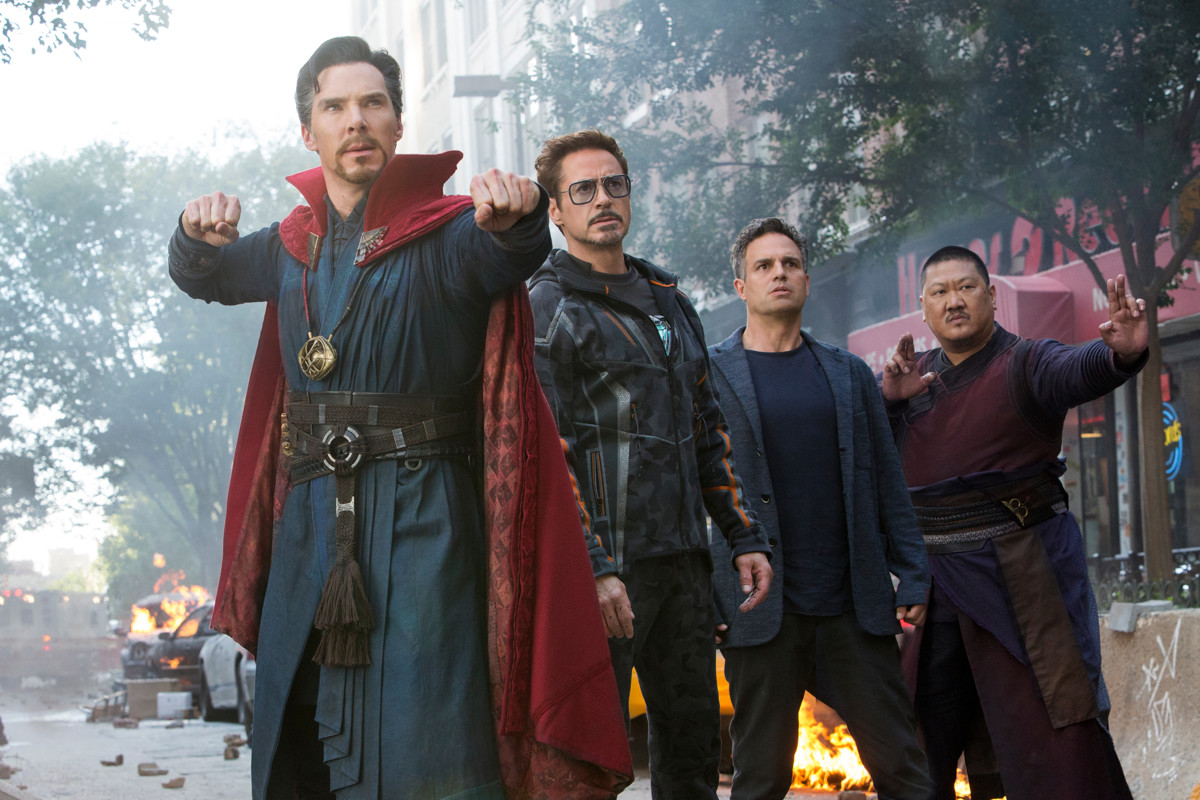 """""""Avengers: Infinity War"""" via Chuck Zlotnick, Disney-Marvel"""