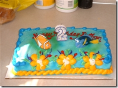 Nathan's birthday cake