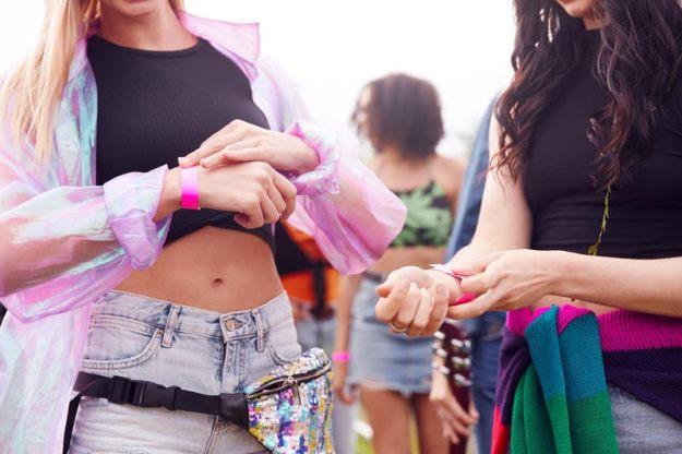 Pulseras de festivales