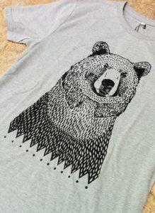 Oso-camiseta