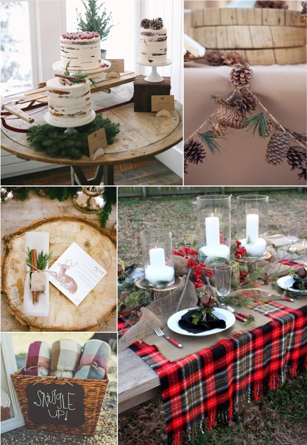 Five Winter Wedding Shower Themes Youll Love