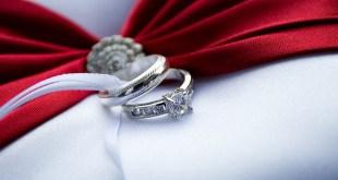 Anel solitário de noivado