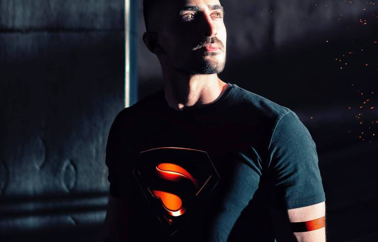 acessórios de super-heróis