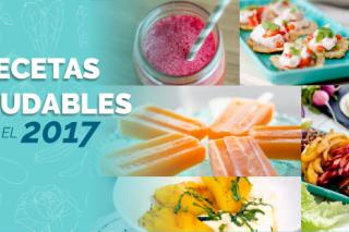 5 recetas saludables para el 2017