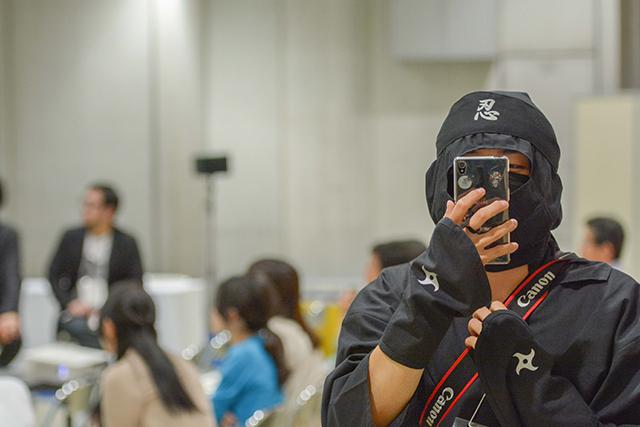 ninja photographer