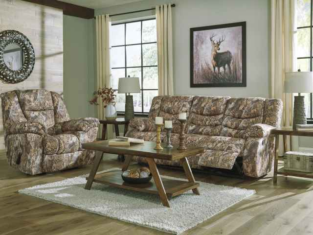 Camo living room furniture set