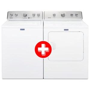 Maytag 3.8 Cu. Ft. Washer and 7.0 Cu. Ft. Electric Dryer