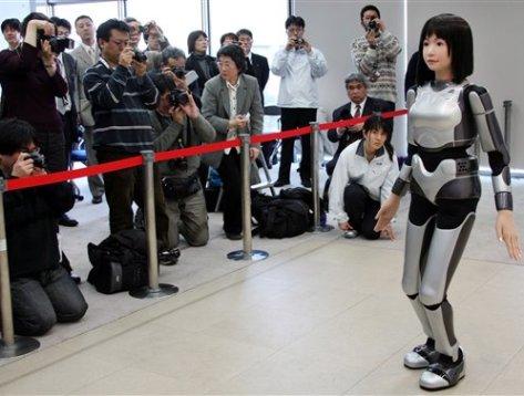 modella robot