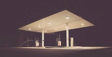 estación repostaje surtidores autogas