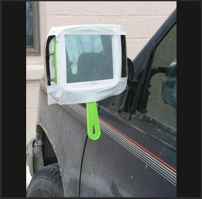 espejo mano retrovisor