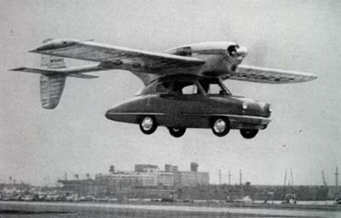 inventos coche volador