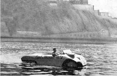inventos coche anfibio