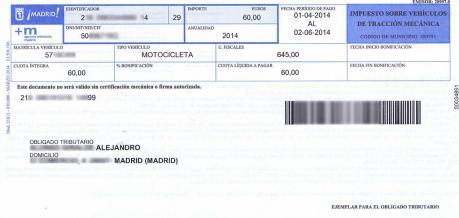 documentacion coche impuesto