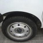 cambio rueda renault kangoo