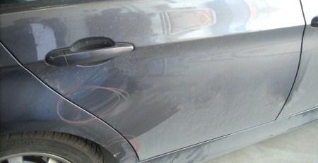 Reparar paragolpes BMW