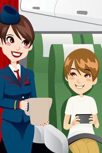 Gyermekünk nem marad törődés nélkül az utazás alatt