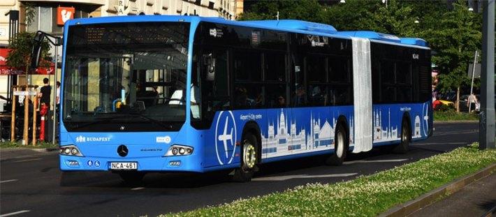 Új reptéri transzfer lehetőség a belvárosból: 100E repülőtéri busz