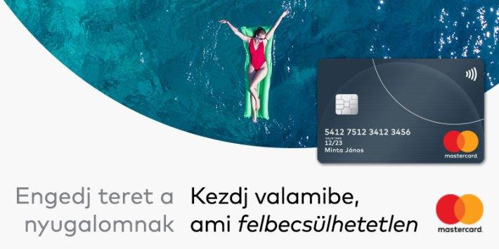 Mastercard bankkártyával könnyen és kényelmesen fizethet külföldön is.