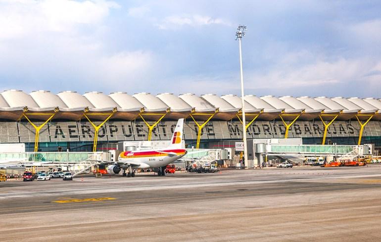 Madrid - Barajas repülőtér