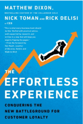 The Effortless Experience: Conquering the New Background for Customer Loyalty