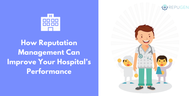 reputation management for hospitals