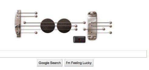 Les Paul Doodle by Google