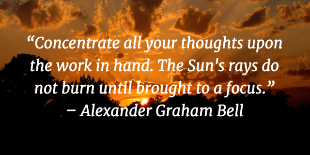 Time management quotes Alexander Graham Bell