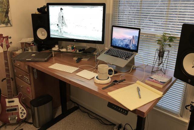 Brian's desk