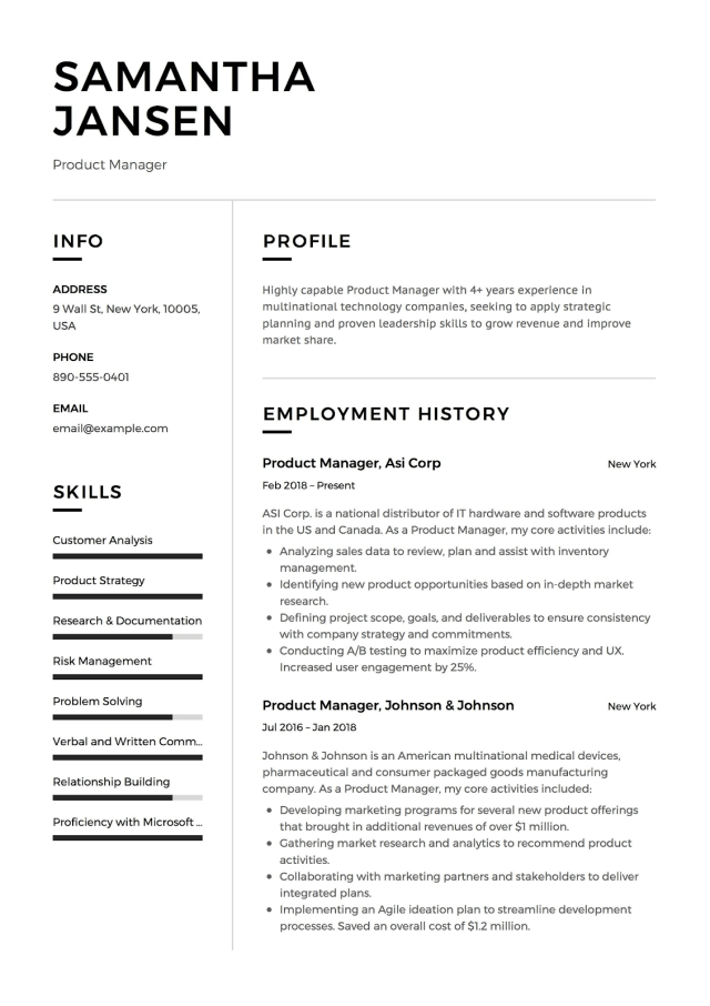 """How To Write the """"About Me"""" Section of Your Resume - ResumeCats Blog"""