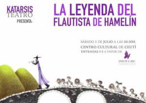 La leyenda del Flautista de Hamelin Ceuti 2017