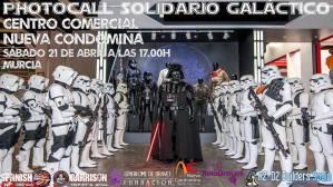 Photocall Solidario Galáctico - Murcia